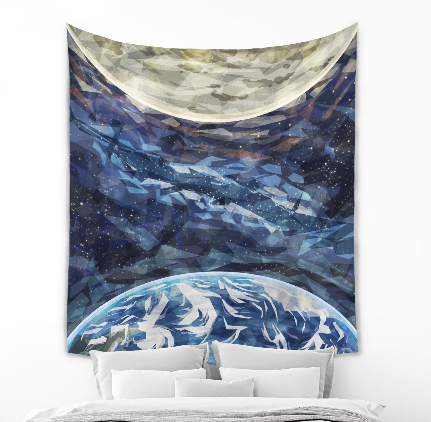 Outer Space Tapestry - Brandless Artist