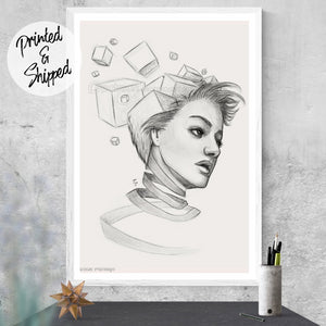 Thoughts Surreal Art - Art by Thubakabra | Brandless Artist