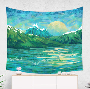 Blue Mountain Tapestry - Brandless Artist