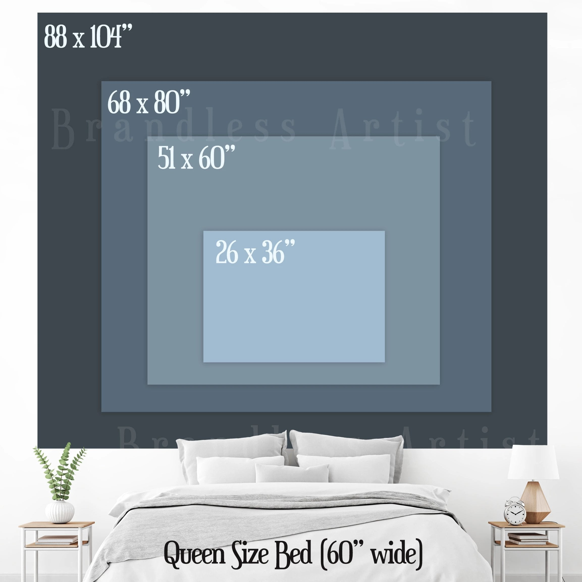Wanderlust Tapestry Sizes - Brandless Artist