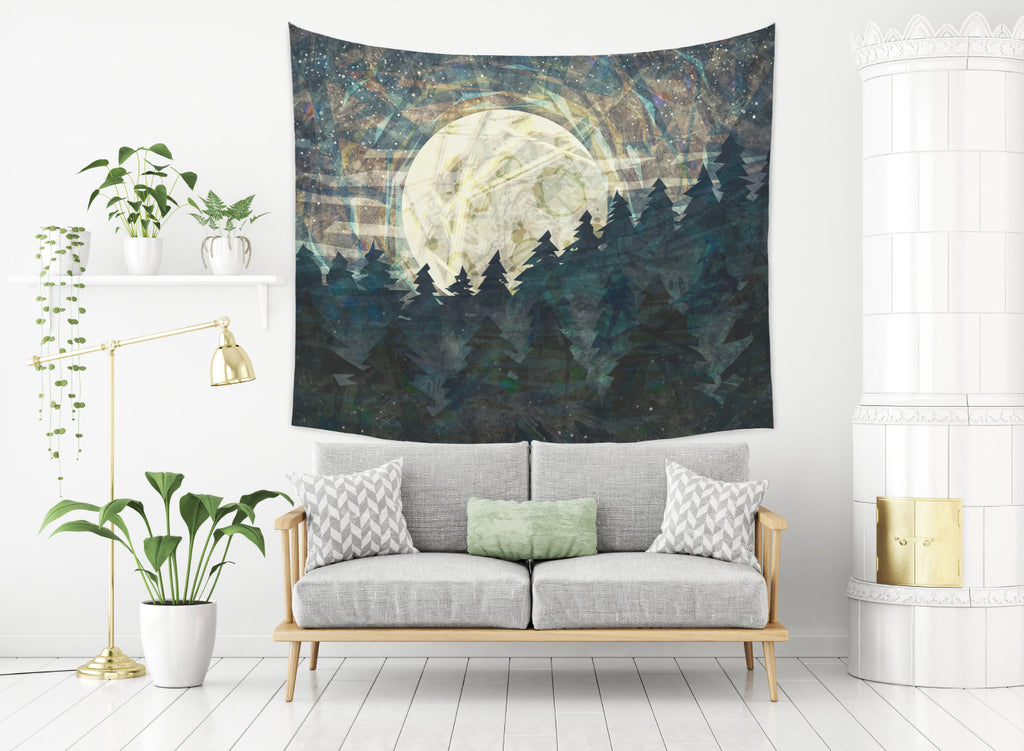 Moon Child Tapestry for Living Room Inspired Wall Hanging | Brandless Artist