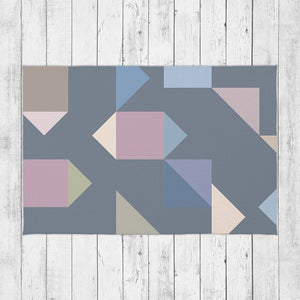 Modern Shapes Rug - Brandless Artist