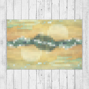 Abstract Pixel Design Rug