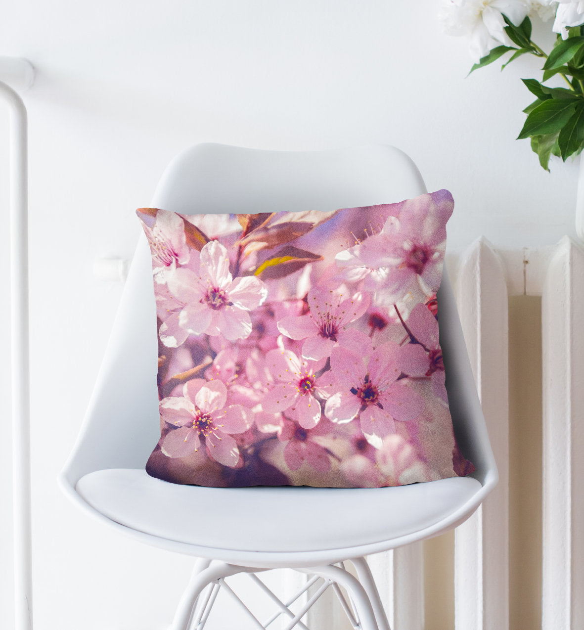Spring Pillow - Sakura Home Decor in Pink Color | Brandless Artist