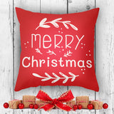 Merry Christmas Pillow Cover - Joyful Xmas Decor | Brandless Artist