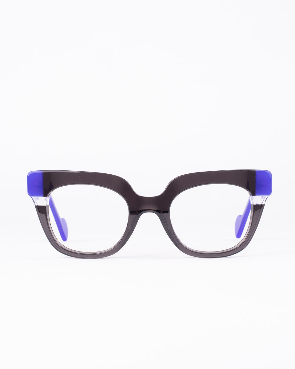 Anne et Valentin - picture - Black & purple | Bar à lunettes