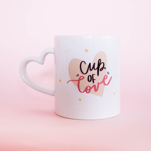 Cup Of Love - Heart Mug