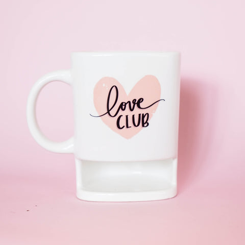 Love Club - Cookie Holder Mug