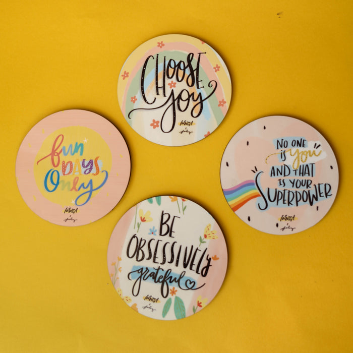 Quotesters - Set of 4
