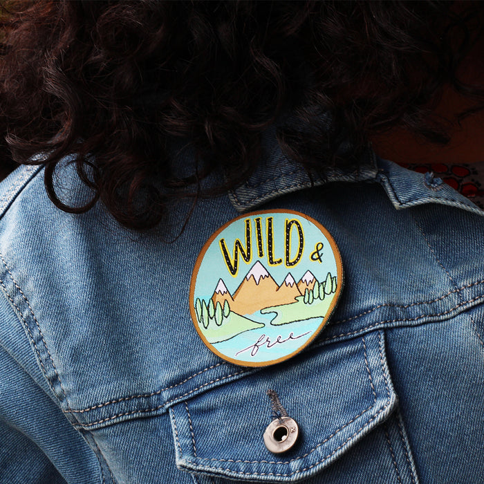 Wild And Free Patch