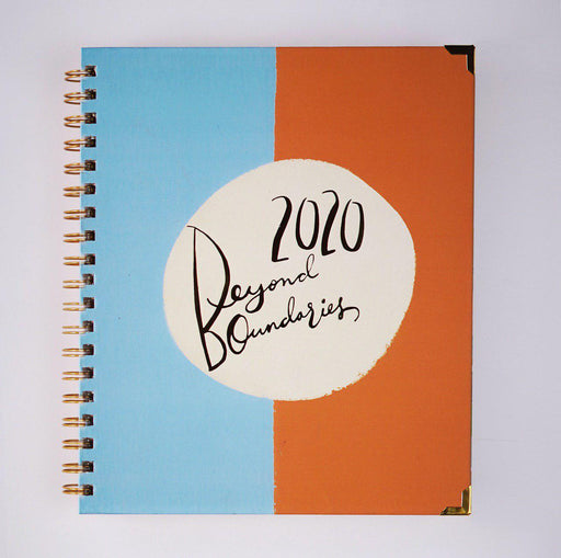 Beyond Boundaries 2020 - Yearly Planner (Dual)