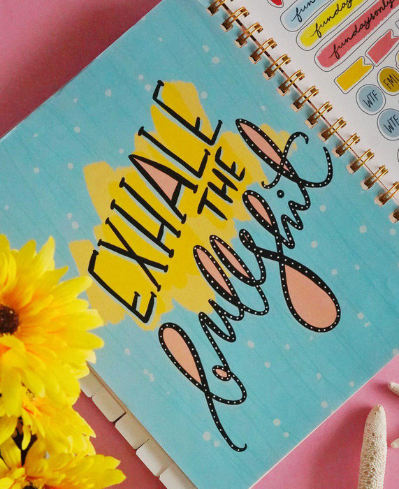Beyond Boundaries 2020 - Yearly Planner (Floral)