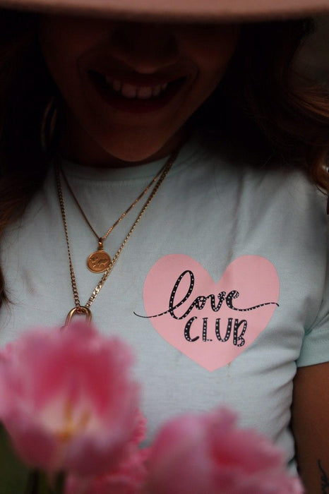 Love Club- Comfortable cotton everyday T-shirt