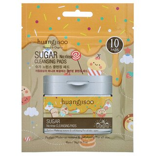 Sugar No Rinse Cleansing Pads - 10 Pads