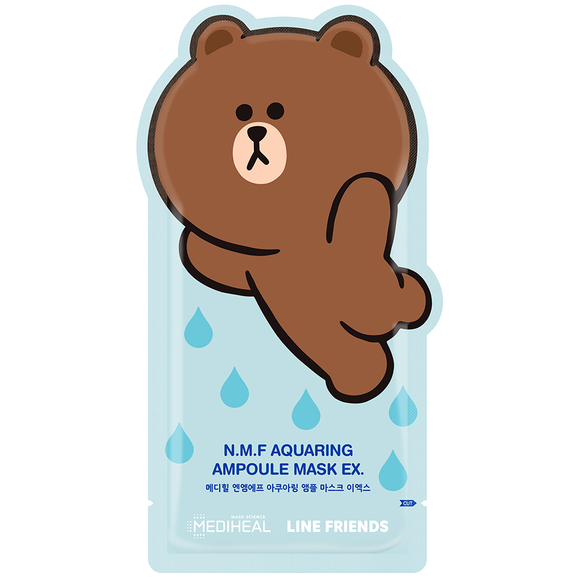 Line Friends N.M.F Aquaring Ampoule Mask