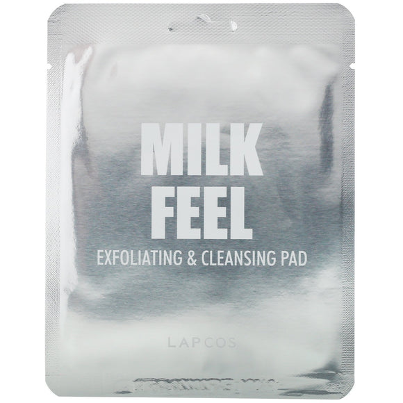 Milk Feel Exfoliating & Cleansing Pad