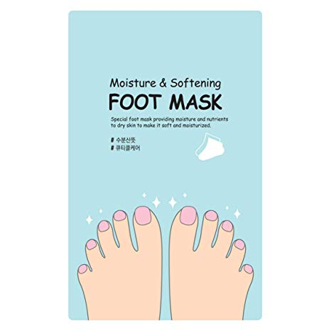 Moisture and Softening Foot Mask