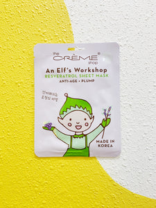 An Elf's Workshop Anti Age + Plumping Mask