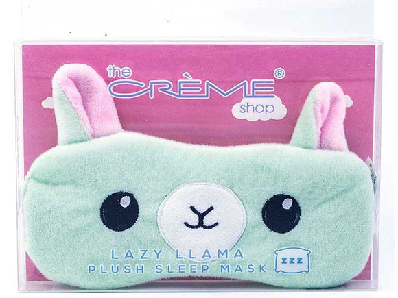 Plush Sleep Mask - Lazy Llama