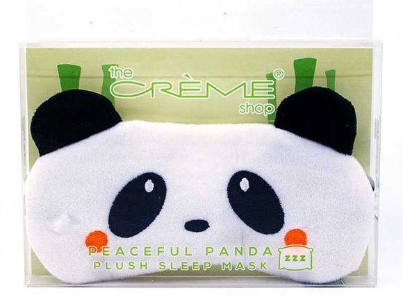 Plush Sleep Mask - Peaceful Panda