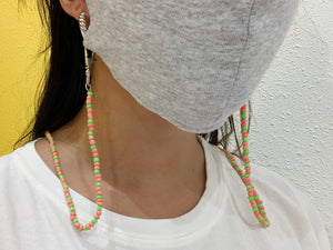 Watermelon Pink Mask Chain