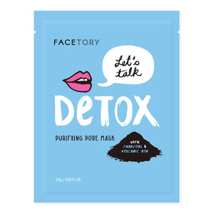 Let's Talk, Detox Purifying Pore Mask