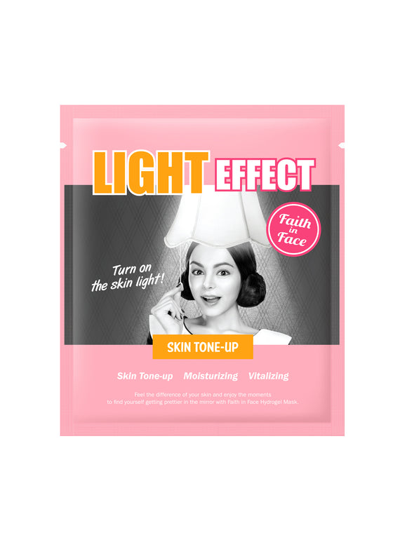 Faith in Face Light Effect Hydrogel Mask