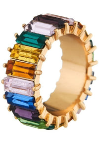 Small Rainbow Ring