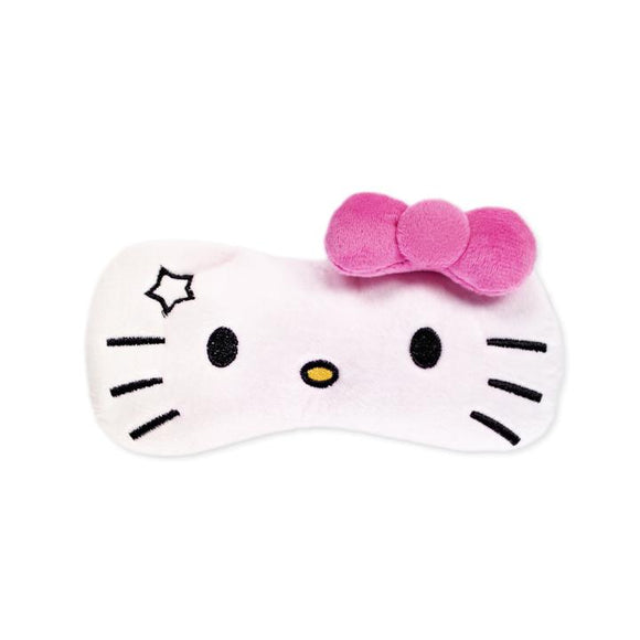 Hello Kitty Plushie Sleep Mask - Pink Bow
