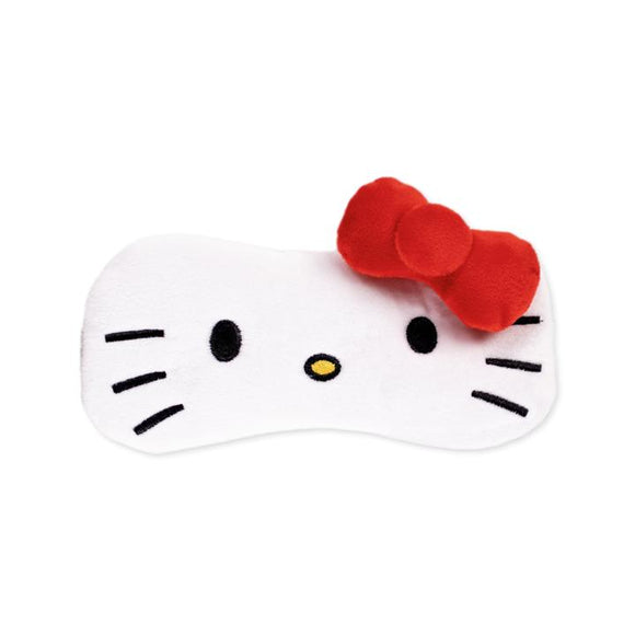 Hello Kitty Plushie Sleep Mask - Red Bow