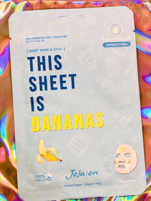 This Sheet Is Bananas - Hydrating
