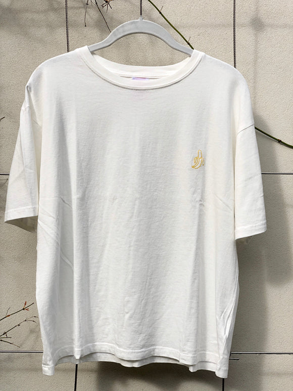 Embroidered Banana Tee