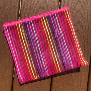Pink Rainbow Pouch