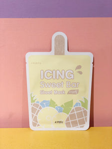 Icing Sweet Bar Sheet Mask (Pineapple)