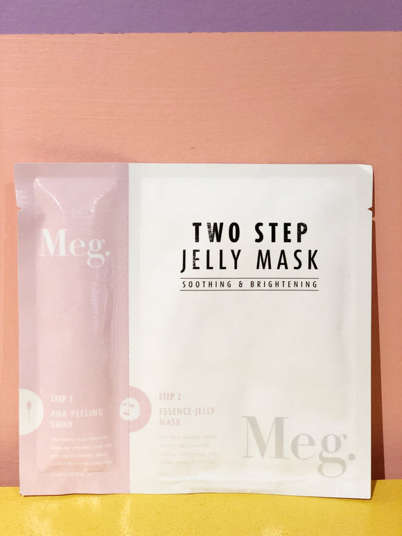 TWO STEP JELLY MASK - SOOTHING & BRIGHTENING