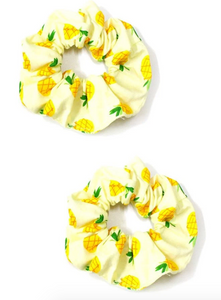 Pineapple Scrunchie - 2 pack