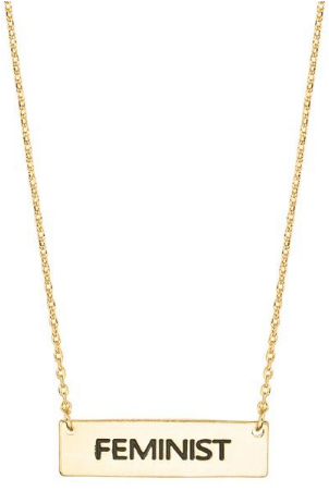 Gold - Feminist Necklace