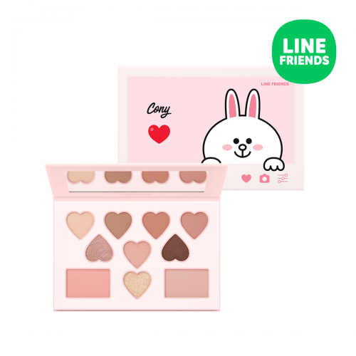 Color Filter Shadow Palette No. 6 Pitapatting Cony (LINE FRIENDS Edition)