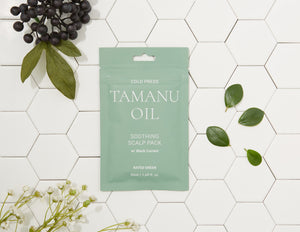 Tamanu Oil Soothing Scalp Pack