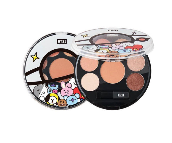 VT BT21 Eyeshadow Palette #01 Mood Brown