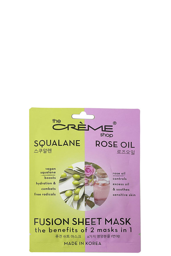 Squalane Rose Oil Fusion Sheet Mask
