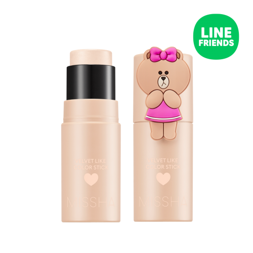 Velvet Like Color Stick-Key Light (LINE FRIENDS Edition)