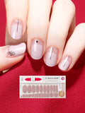 Nail Gel Stickers NAKED CAKE  -- 8S09