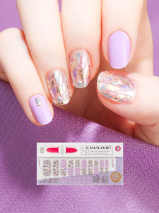"Nail Gel Stickers LET_""ŽS BE TOGETHER - 8S14"