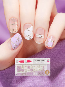 Nail Gel Stickers STAY GOLD - 8S17