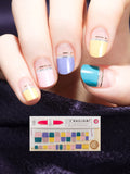Nail Gel Stickers DARK CANDY - 8S21