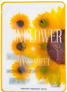 Flower Mask Sheet - Sunflower