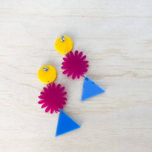 trio FLOWER dangle | ROWDY PLAY accessories