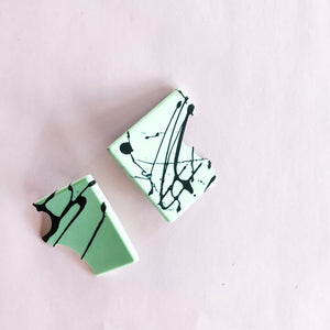 abstract ROWDY studs