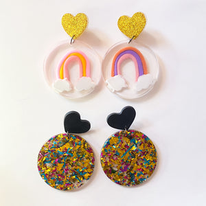 somewhere over the Rainbow dangles | LOTS OF LOVE release 2.0
